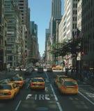 6ta avenida de Nueva York. Imagen de archivo libre de regalías