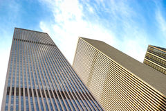 6th Avenue buildings, NYC Royalty Free Stock Photography