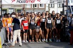 6th drechtstedenlooplinje löpare upp Arkivbild