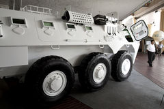 6x6 θωρακισμένο όχημα rimau πάλης Στοκ Εικόνες