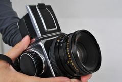 6X6 format camera Royalty Free Stock Photography