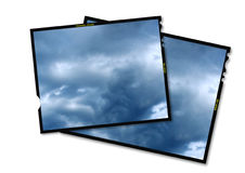 6x7mm film frame Royalty Free Stock Photography