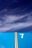 7ος ουρανός πορτών Στοκ φωτογραφία με δικαίωμα ελεύθερης χρήσης