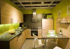 7个厨房现代新的缩放比例 免版税库存图片
