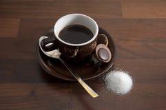 7个咖啡杯 库存图片