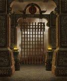 7个幻想寺庙 皇族释放例证