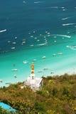 7个海岛ko lan pattaya 库存图片