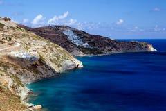 7个海岛santorini 图库摄影
