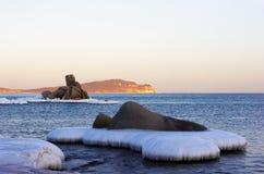 7个海湾横向vladimir冬天 免版税库存照片