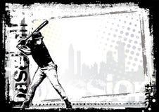 7个背景棒球 免版税库存图片