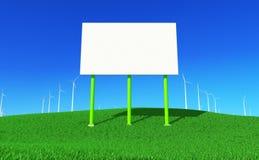 7个能源绿色 免版税库存图片