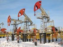 7个行业油 免版税图库摄影