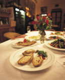 7优良用餐 免版税库存图片