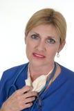 7位医生护士 免版税图库摄影