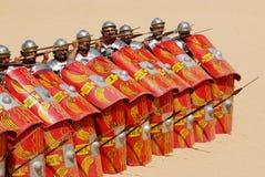 7位战士 免版税图库摄影