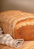 7做面包的粮谷大面包 图库摄影