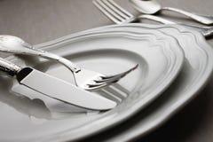 7刀叉餐具 免版税库存照片