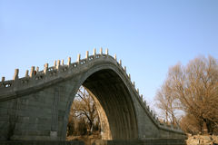 7古老桥梁 免版税库存图片