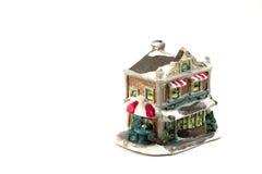 7圣诞节装饰房子 免版税库存照片