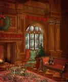 7圣诞节风景 免版税库存图片