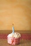7块杯形蛋糕 免版税图库摄影