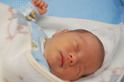 7婴孩 免版税库存图片