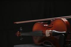 7小提琴 库存图片