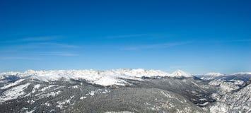 7山脉 免版税库存图片
