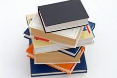 7本书没有堆 免版税库存图片