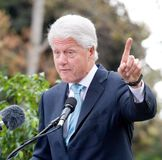 7比尔・克林顿 免版税库存照片