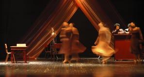 7现代的舞蹈 库存图片