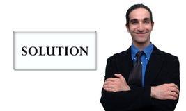 7生意人 向量例证