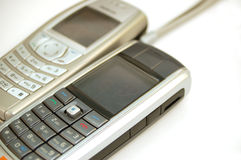 7移动电话 库存图片