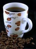 7粒豆咖啡 免版税库存照片