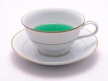 7绿色清凉茶 免版税库存图片