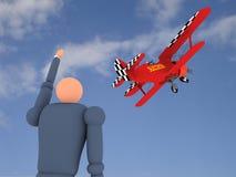 7航空商业卷 免版税库存图片