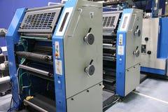 7被打印的设备 免版税库存照片