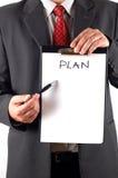 7计划 免版税库存图片