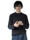 7青少年的音乐 免版税库存照片