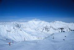 7 österrikiska alps Arkivfoton