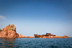 7 εγκαταλειμμένο σκάφος Στοκ φωτογραφίες με δικαίωμα ελεύθερης χρήσης