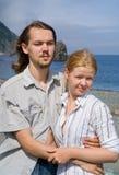 7 νεολαίες γυναικών ανδρώ&n Στοκ φωτογραφίες με δικαίωμα ελεύθερης χρήσης