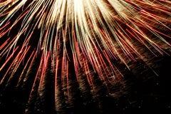 7 πυροτεχνήματα Στοκ Εικόνα