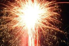 7 πυροτεχνήματα Στοκ Φωτογραφίες