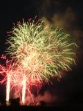 7 πυροτεχνήματα Στοκ εικόνες με δικαίωμα ελεύθερης χρήσης