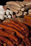 7 ρουμανικός παραδοσιακός τροφίμων Στοκ Εικόνες