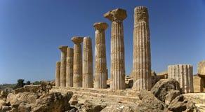 7 античных руин Стоковые Изображения