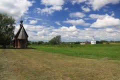7 взглядов России suzdal Стоковая Фотография RF