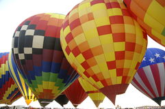 7 воздушных шаров Стоковая Фотография