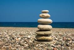 7 камней Стоковые Фотографии RF